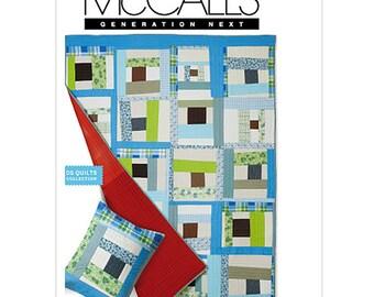 McCall's Sewing Pattern M6341 Quilt, Sham   Uncut