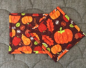 Quilted Pot holders , Potholders,pot holders, Fabric Pot holders, Contemporary Potholders ,7 x 7 inch ,orange pot holders