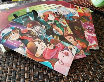 Gravity Falls Bookmarks
