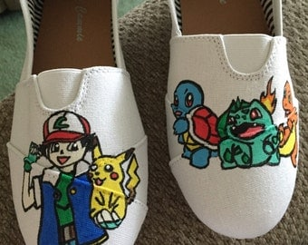 Pokemon  Hand-Painted Shoes