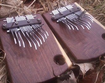 20-Note Double-Bridge Kalimba (Walnut)