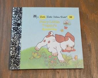 Little Little Golden Book, Poky Little Puppy's Special Day, No 32, Miniature Golden Book