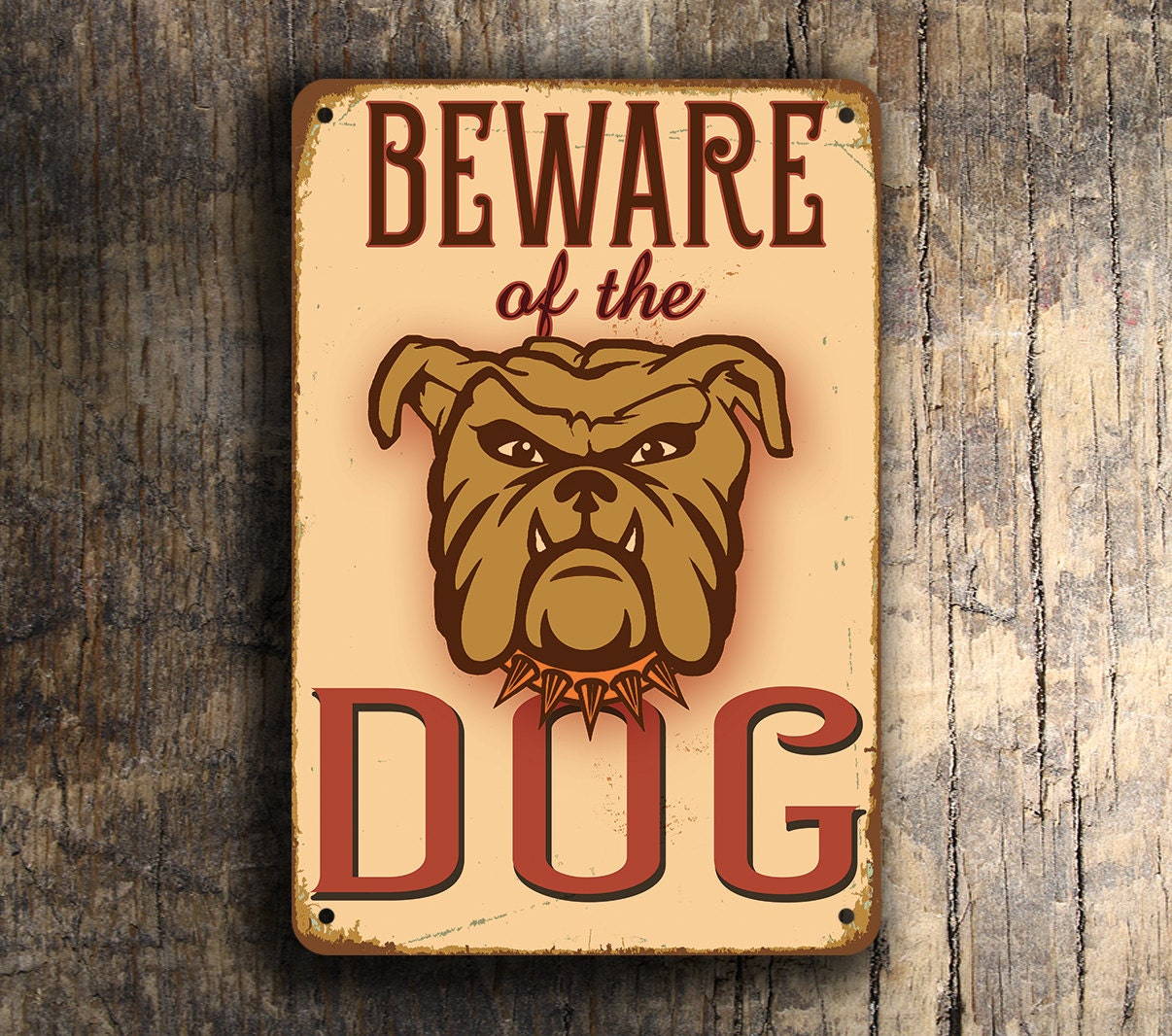 BEWARE Of The DOG SIGN Dog Signs Beware of the Dog Sign