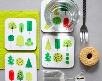 SALE! Nature Coasters Set of 4