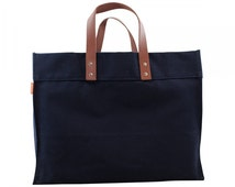 CB Station Advantage Utility Tote Navy With Monogramming