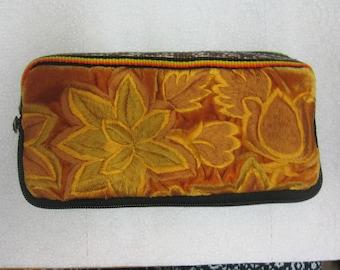 Guatemalan Wallet Mayan Embroidered Huipil