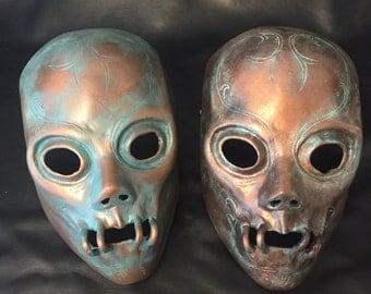 Harry Potter inspired Death Eater mask.