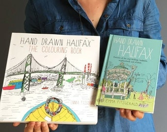 Hand Drawn Halifax : The Colouring Book