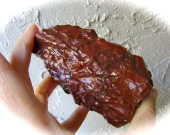 Red Calcite Crystal Stone Specimen 100mm 234g