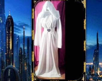 3PC STAR WARS Princess Leia Costume - Movie Opening Cosplay Character