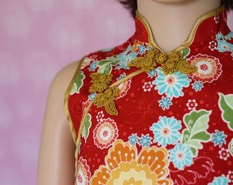 Chinese dress, A-line qipao, cheongsam for children, girl qipao.