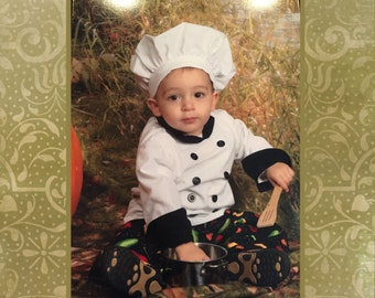 Chef Costume Child  Size 1-8