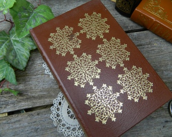 Vintage Gilded Leather Bound The Mill on the Floss - George Eliot - Easton Press - Pristine Condition