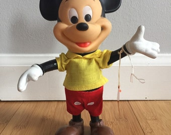 Vintage Walt Disney Mickey Mouse Doll