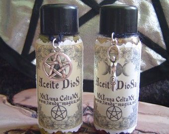 Oils God and Goddess Wicca/oils Dios and goddess (Wicca)