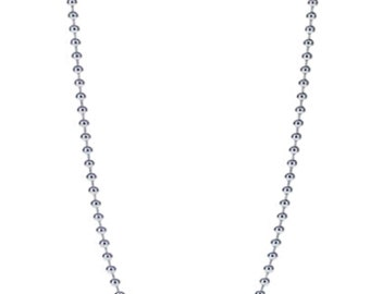 Dainty 30 Inch Silver Ball Chain Add-On Item For posh.collars Pendant Necklaces