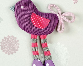 MADE TO ORDER Knitted bird