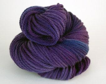 Hand-Painted Bulky 100% Superwash Merino Wool Yarn - Sweet Hydrangeas