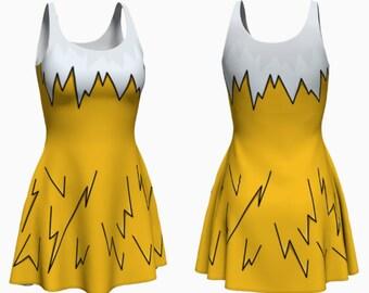 Bolt Dress (jolteon, eevee inspired)