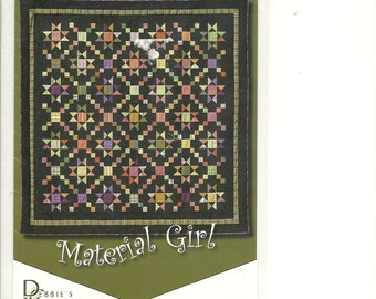 Classy Patterns:  Material Girl Quilt Pattern