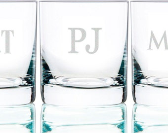 Personalized Rocks Glass Bourbon and Whiskey Glass (per piece), 11 oz.