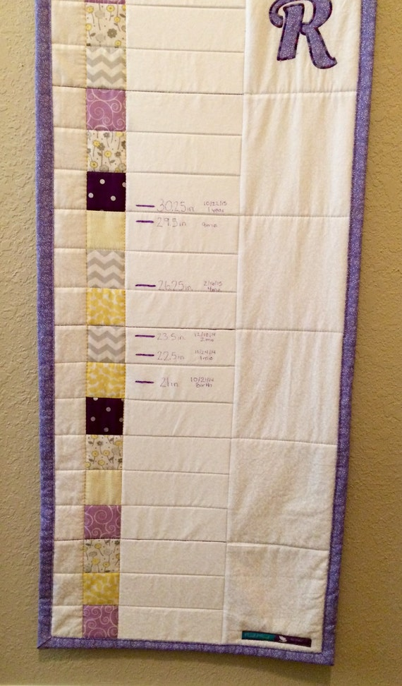Growth Chart Quilt