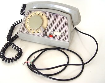 Vintage  Working Rotary Telephone.