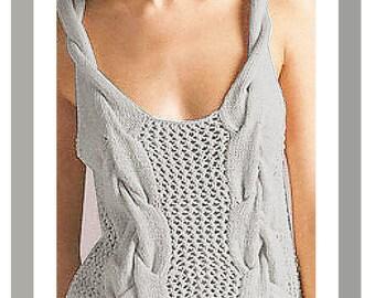 Cotton Thank Cloud hand knit