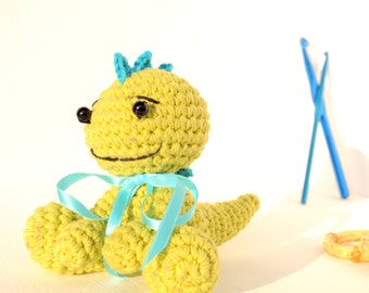 Crochet amigurumi dragon - Amigurumi dragon doll - Crochet Amigurumi - dragon Doll - Amigurumi Animal - Crochet Animal - Soft toy
