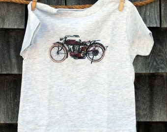 Vintage Motorcycle Toddler T-Shirt