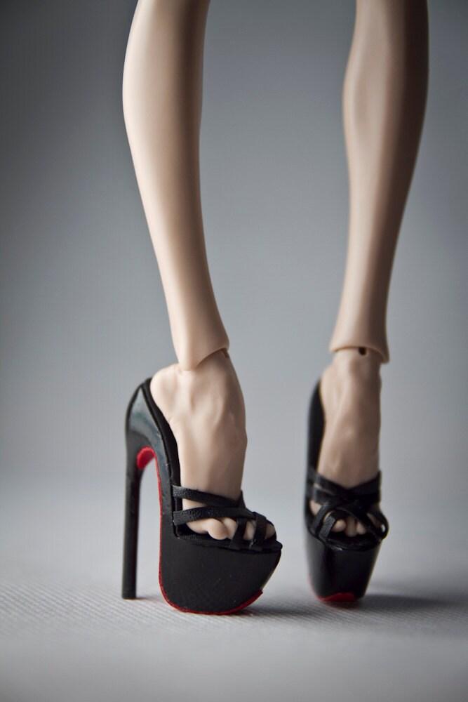 ursi sarna fashion shoes for popovy doll high heels