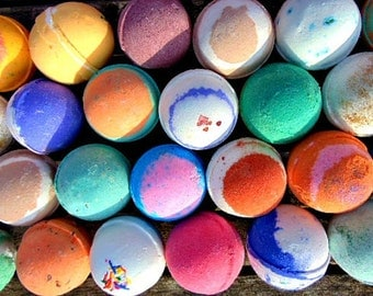 Bath bombs - 10 XL bath bombs - you choose the scent. Wholesale bath bombs,  Tennis ball size bath bombs, bath bomb- lush bath bomb