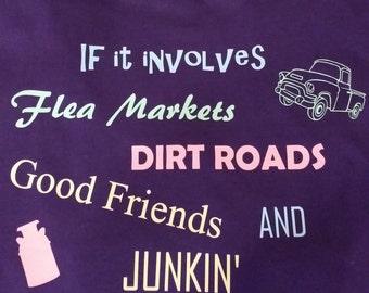 Good Friends Junkin' t-shirt