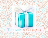 Tiffany and Coral Palette Custom Name Fabric Material for Applique, ITH, & Craft Projects. Various Sizes