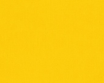 Fabric - Robert Kaufman- Kona solids - Canary - cotton