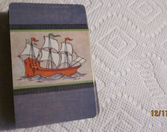 Vtg Tall Ships Cards Loose No Box 52 cards Total