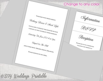 5x7 folded card template for word