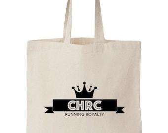 CHRC Hand-printed 100% Organic Cotton TOTE BAG
