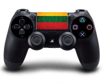 Lithuania / Lithuanian Flag Playstation 4 (PS4) Controller Touchpad Decal