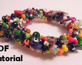 Beaded Bracelet Tutorial: Instant Download
