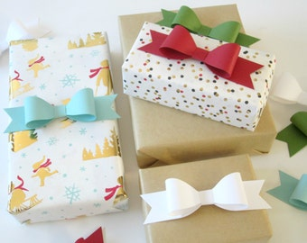 Set of 10 DIY Paper Bows
