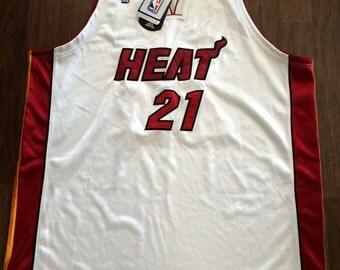 Vintage Miami Heat magloire adidas deadstock jersey