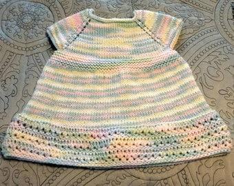 Princess Rainbow Knit Dress
