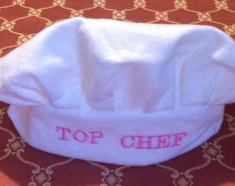 Girls chef hat