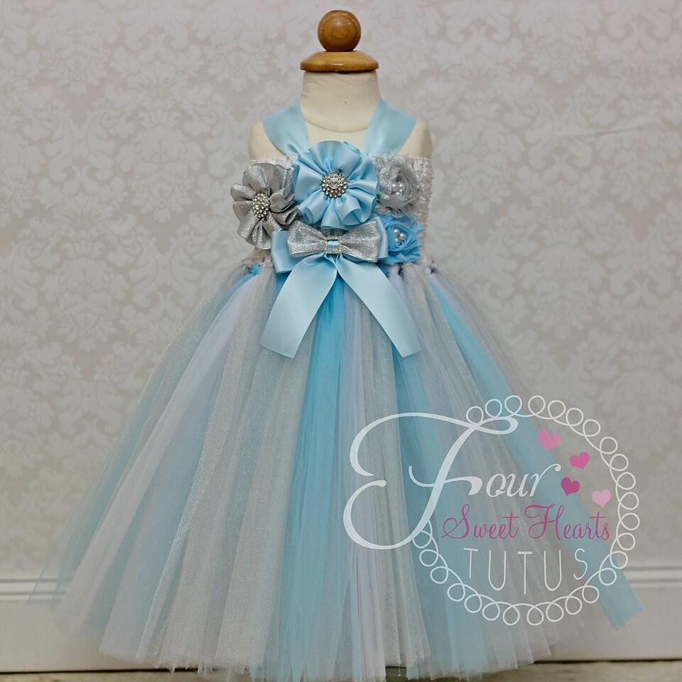 Tutu Winter Wonderland Bridesmaids Dresses