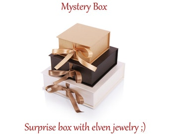 Grab Bag with Elven jewelry, elven mystery box, Surprise box, Jewelry Mystery Box, elf jewelry surprise, jewelry grab bag