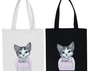 Lushousloulou Organic Cotton Cat Bag