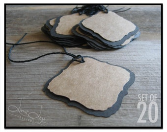 Blank Gift Tag - set of 20