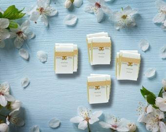 Wedding Soap Favors, 100 Handcrafted Custom Soap Favors, Personalized Favors, Over 50 designs to choose, Favors, Bridal Shower, Vegan Favor