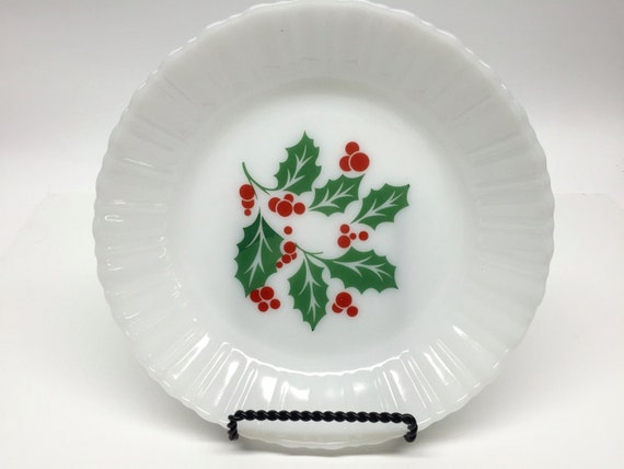 Termocrisa holly and berry bowl christmas dishes by